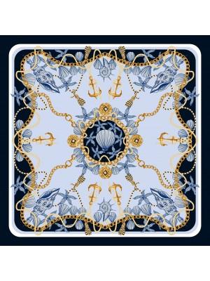 DESTINY- Τετράγωνο Μεταξωτό γυναικείο Μαντήλι 70x70 cm