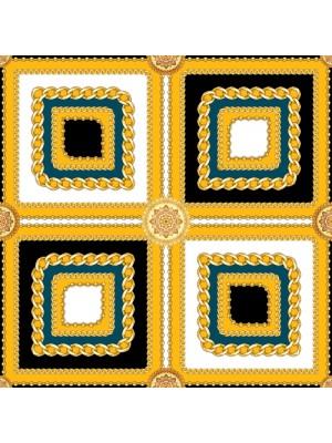 CHAIN- Τετράγωνο Μεταξωτό γυναικείο Μαντήλι 70x70 cm
