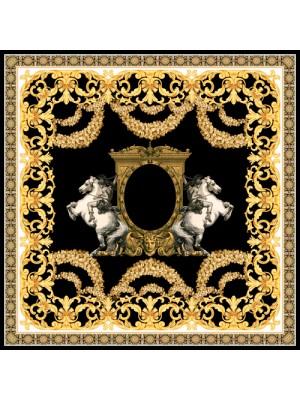 ALEXANDER- Τετράγωνο Μεταξωτό γυναικείο Μαντήλι 70x70 cm
