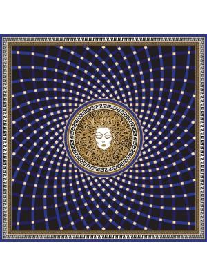 MEDOUSA- Τετράγωνο Μεταξωτό γυναικείο Μαντήλι 70x70 cm