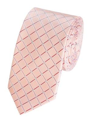 EPIC 0001 Μεταξωτή υφαντή καρό γραβάτα