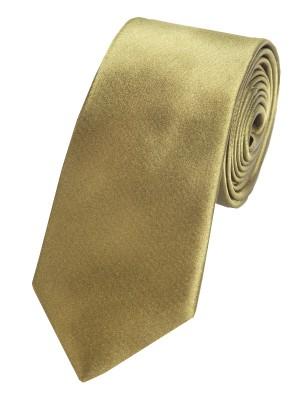 EPIC 0432 Σατέν ολομέταξη γραβάτα από μετάξι σε λαδί απόχρωση