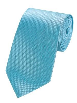 EPIC 0408 Μεταξωτή υφαντή τυρκουάζ γραβάτα πλάτους 8.5 cm