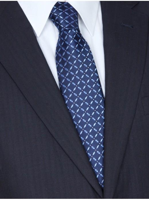 Γραβατες,Χειροποιητες γραβατες,Mεταξωτες γραβατες,EPIC 0385 μπλε Γραβάτα