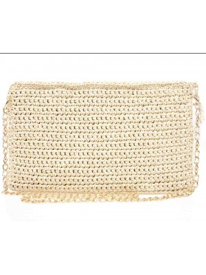 MARVEL χειροποίητη γυναικεία τσάντα φάκελος σε χρυσό χρώμα