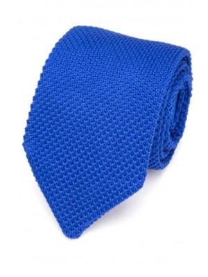 EPIC 0500 Μπλε πλεκτή γραβάτα πλάτους 7 cm